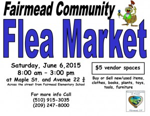 Flea Mkt flyer 6-6-15