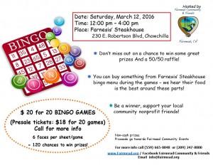 Bingo flyer 3-12-16