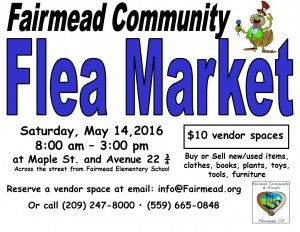 Flea Mkt flyer 5-14-16 English
