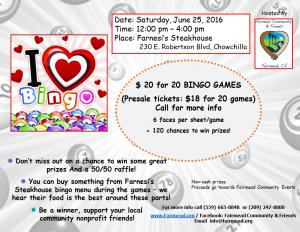 Bingo flyer 6-25-16